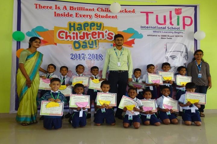 Tulip International School-Childrens Day Celebration