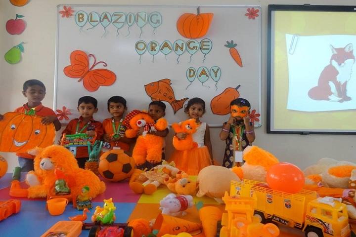 Tulip International School-Orange Day Celebration