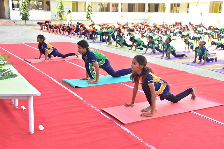 Tulip International School-Yoga Day