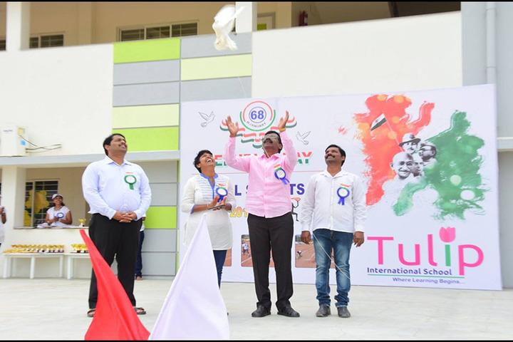 Tulip International School-Independence Day Celebration