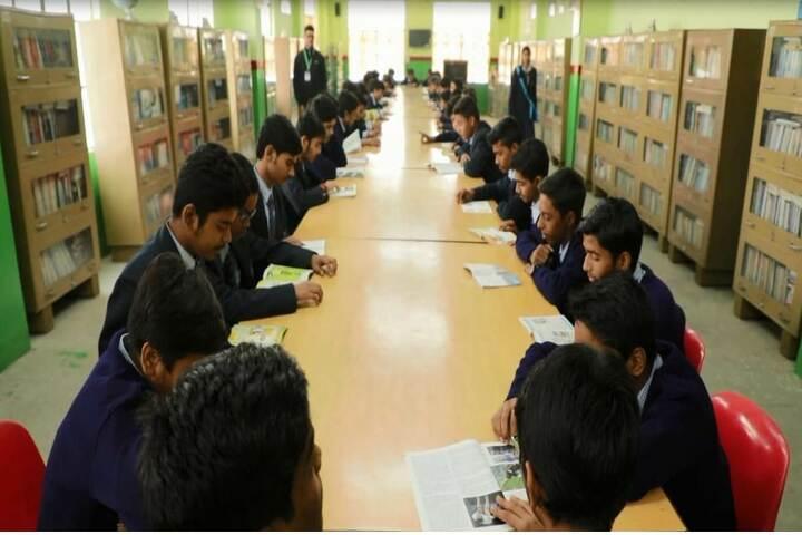 R P S Public School-Library