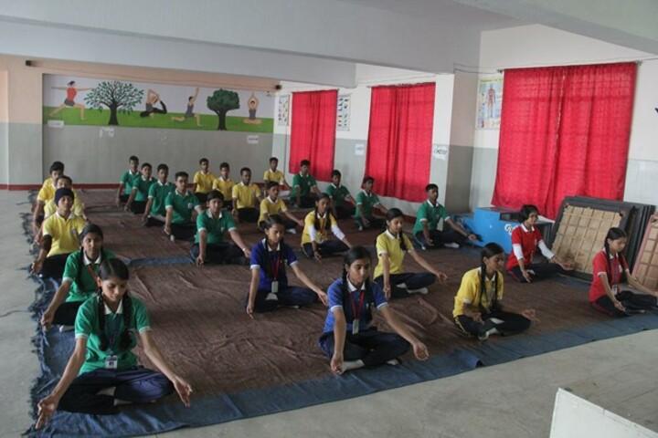 R P S Public School-Yoga