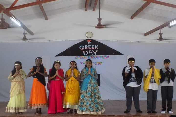 TVS Academy-Greek Day