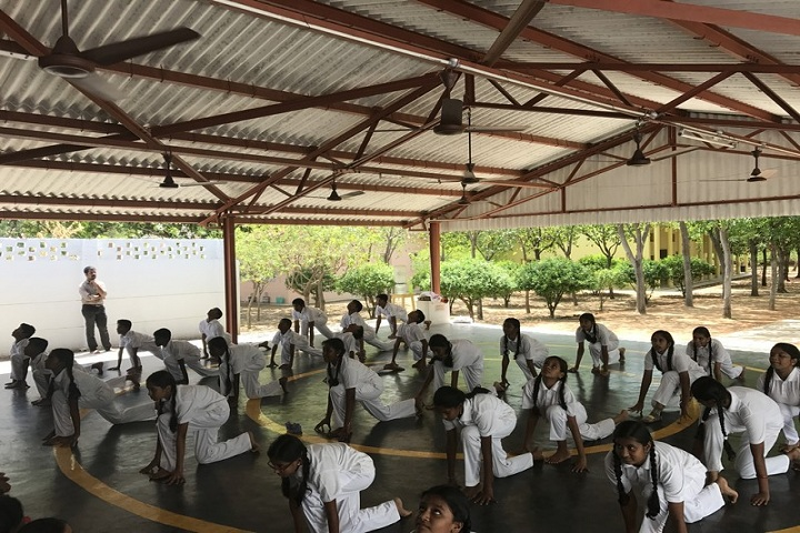 TVS Academy-Yoga Day