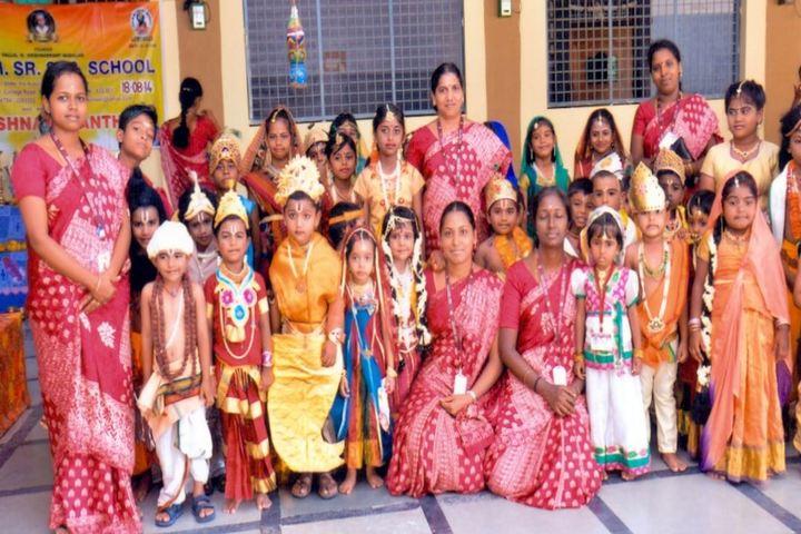 V V N K M English Medium School-Janmastami Celebration