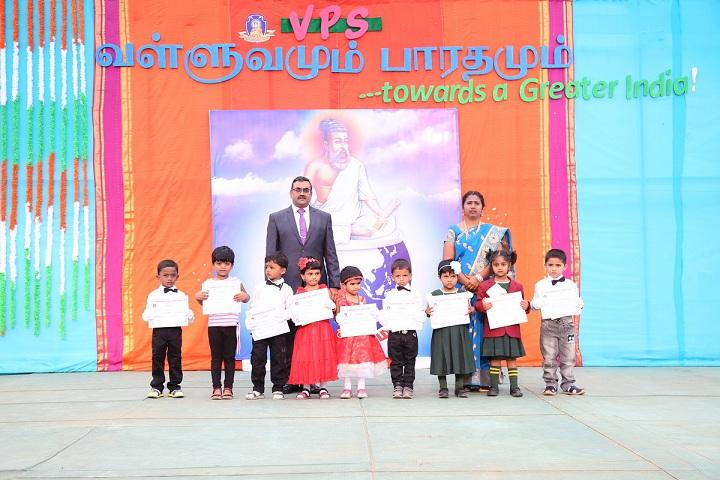 Vailankanni Public School-Certificate Distribution