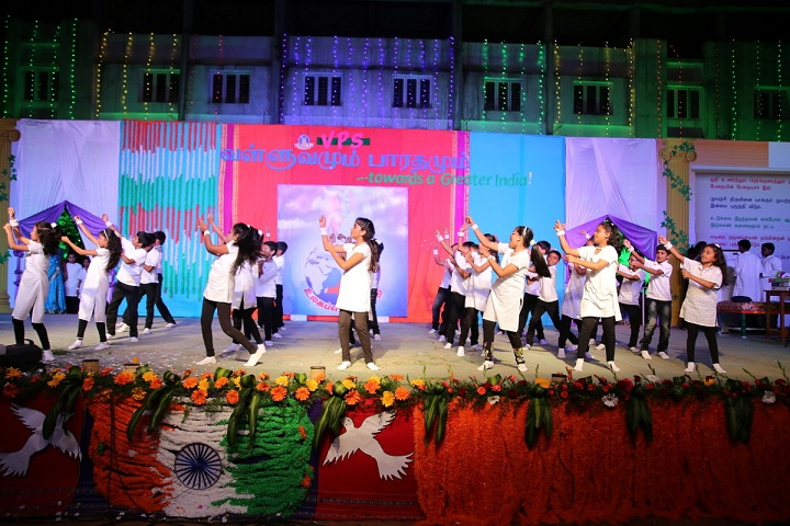 Vailankanni Public School-Group Dance