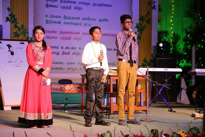 Vailankanni Public School-Speech by Students