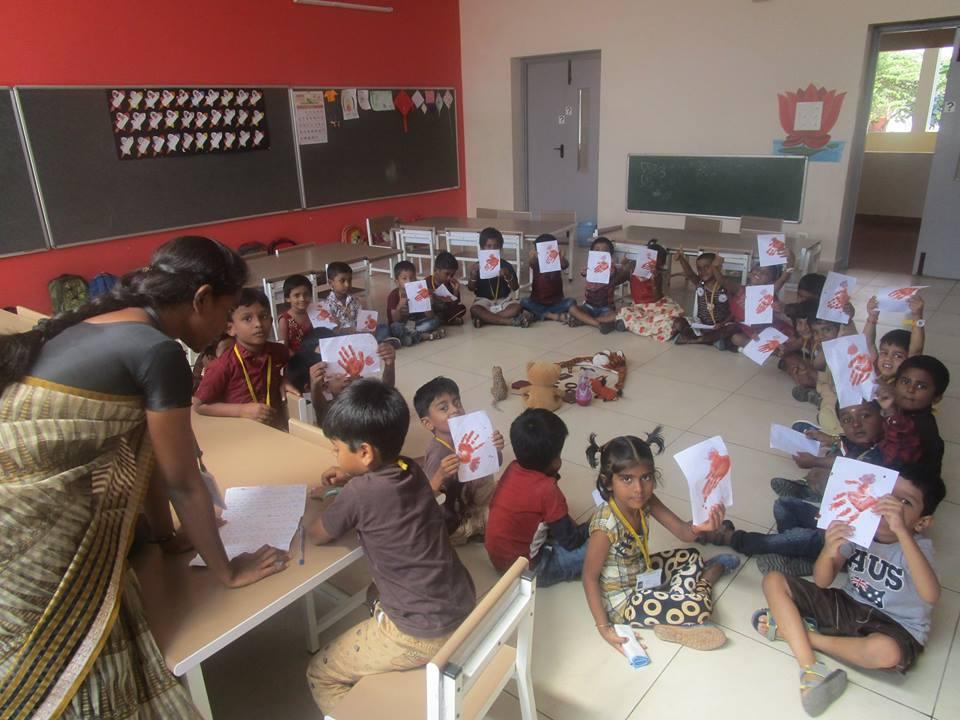 Vallabha Vidyalaya-Brown Day for kids