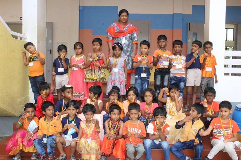 Vallabha Vidyalaya-Orange Day for KG