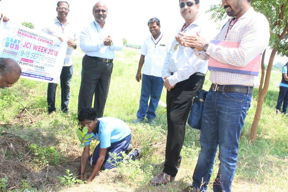Vallabha Vidyalaya-Planting Day