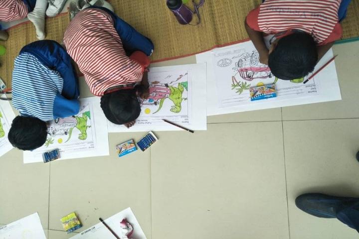 Vani Vidyalaya School-Drawing Class