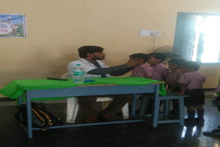 Vani Vidyalaya School-Medical Check up