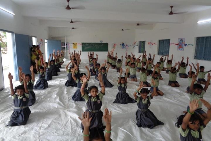 Vani Vidyalaya School-Yoga Class