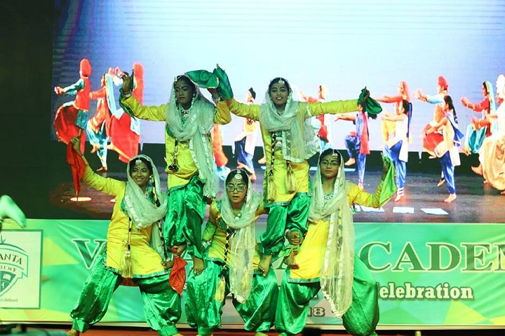 Vedanta Academy-Group Dance by Girls