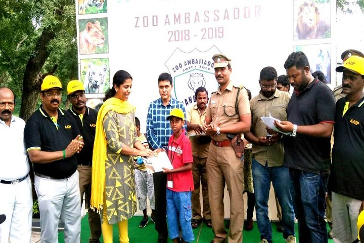 Vedanta Vidyalaya-Zoo Ambassador