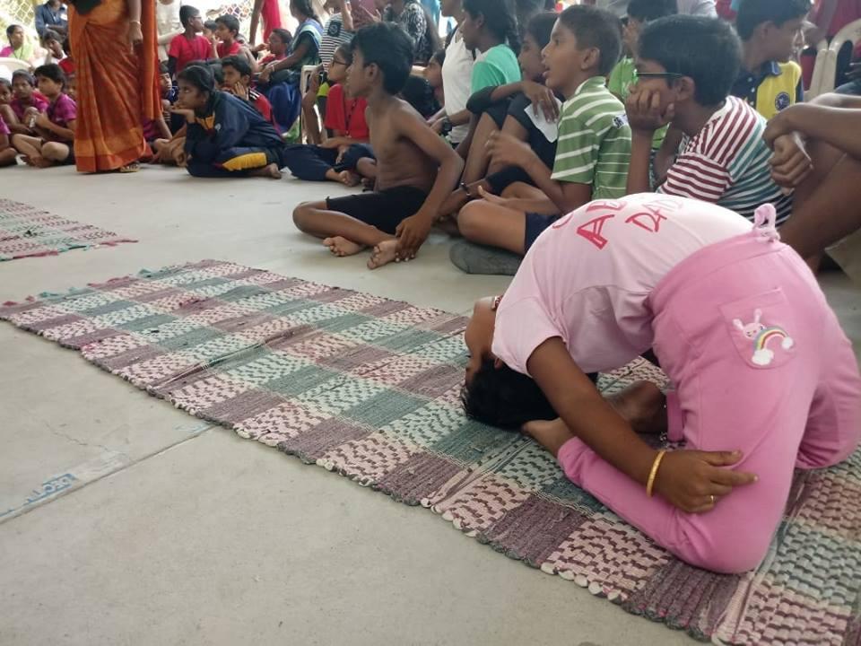 Vedanta Academy-National Level Yoga Competetion