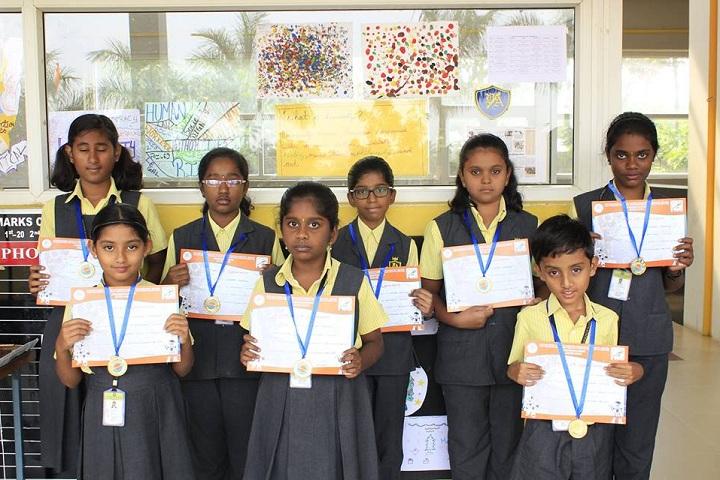 Vedanta Vidyalaya-Interschool Robotics Competetion