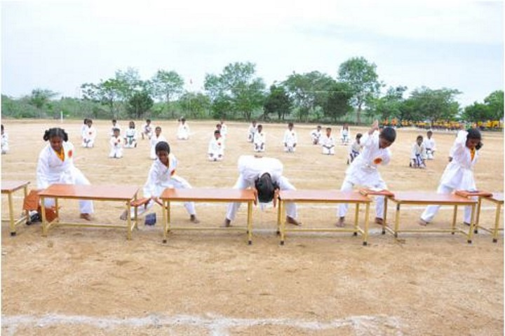 Vedavalli Vidyalaya Senior Secondary School-Karate Activity
