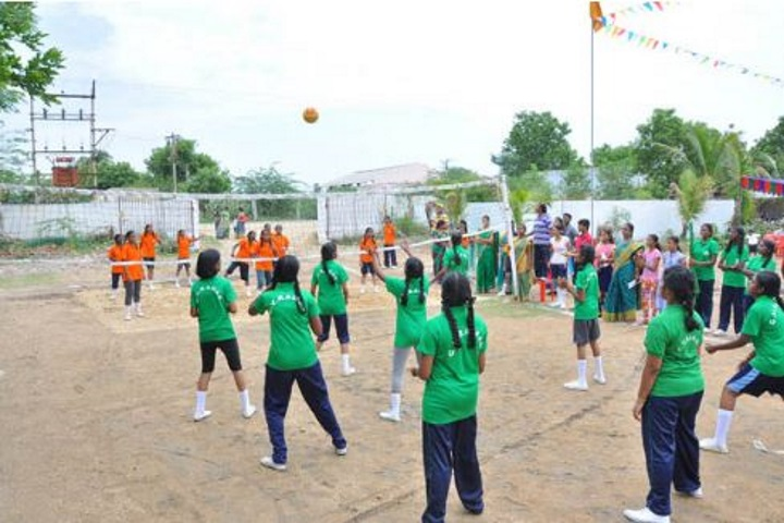 Vedavalli Vidyalaya Senior Secondary School-Throw Ball