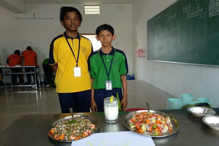 Vee Gee Vikas Public School-Food Preparations
