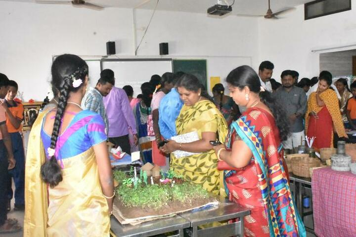 Vee Gee Vikas Public School-Tamil Exhibition