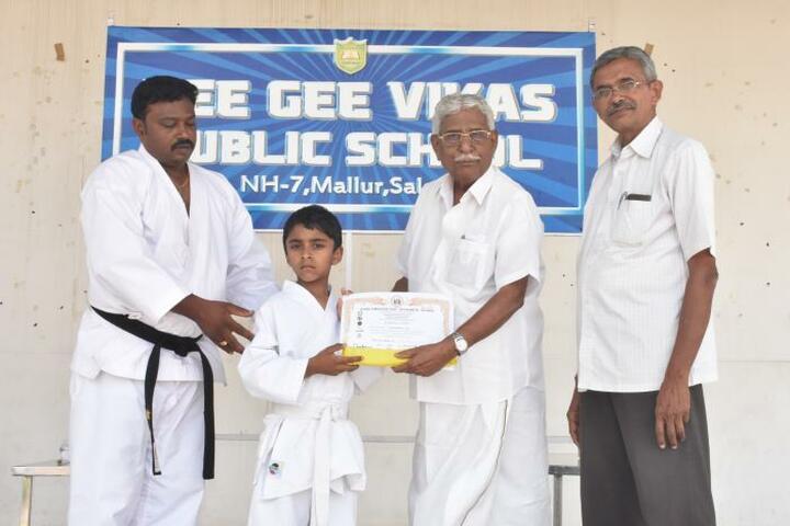 Vee Gee Vikas Public School-karate Belt