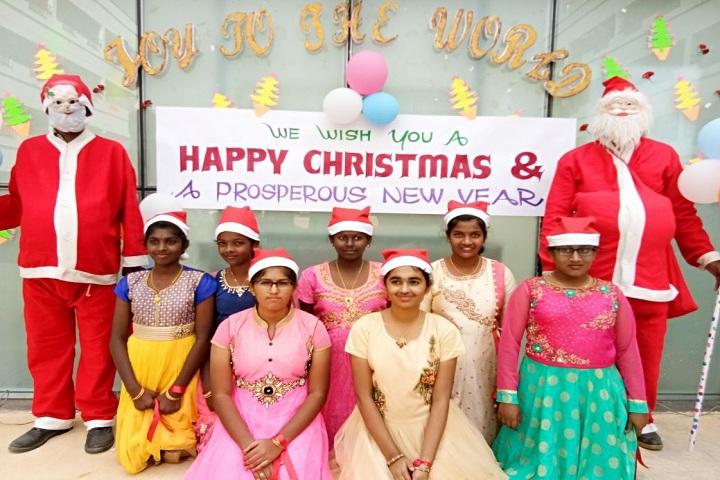 Velalar Vidyalayaa Senior Secondary School-X-Mas Celebration