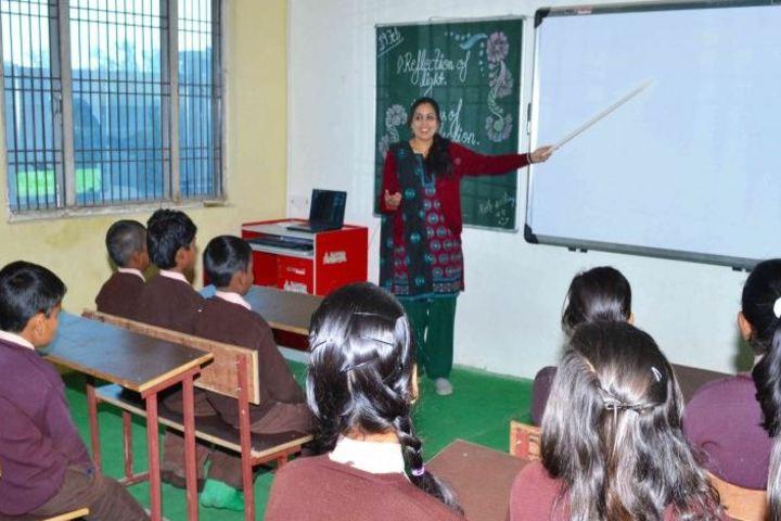 R B T Vidyalaya-Classroom