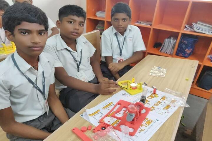 Velammal Bodhi Campus-Experiment