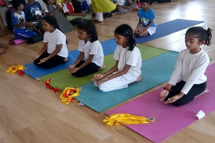 Velammal Bodhi Campus-Meditation