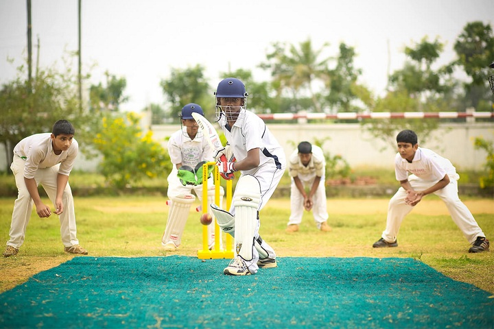 Velammal Residential School-Cricket