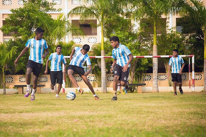 Velammal Residential School-Foot Ball