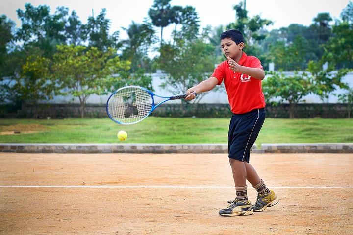 Velammal Residential School-Tennis
