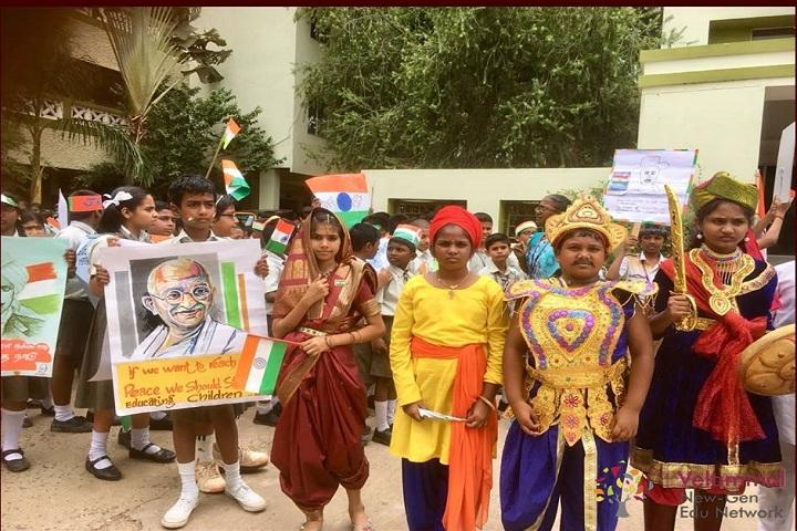 Velammal Vidyashram School-Dandi Yatra