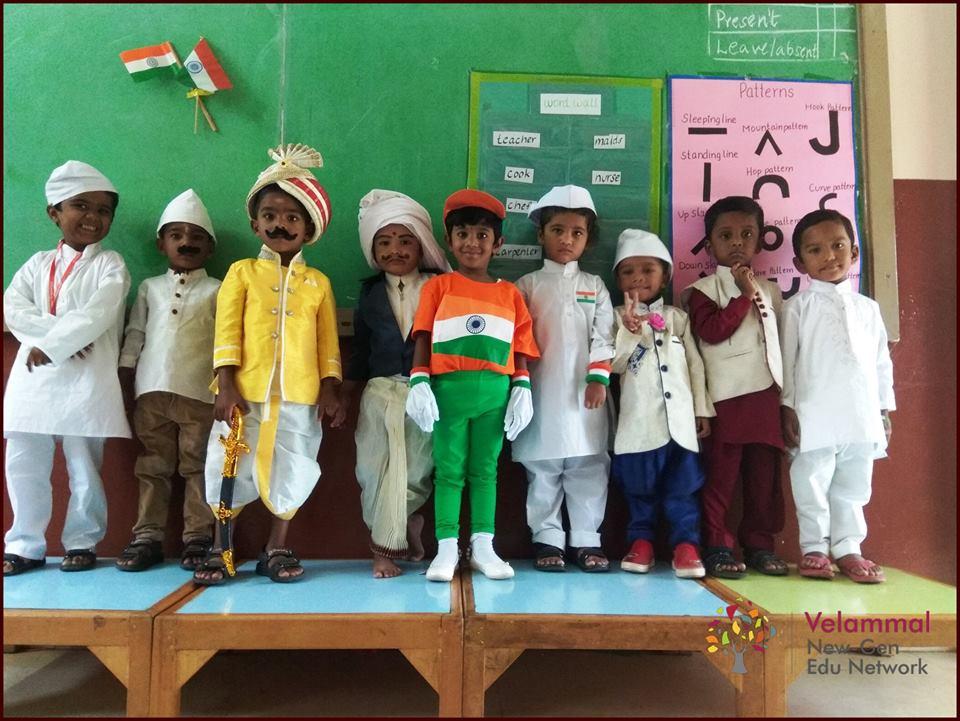 Velammal Vidyashram School-Unity in Diversity Day Celebrations