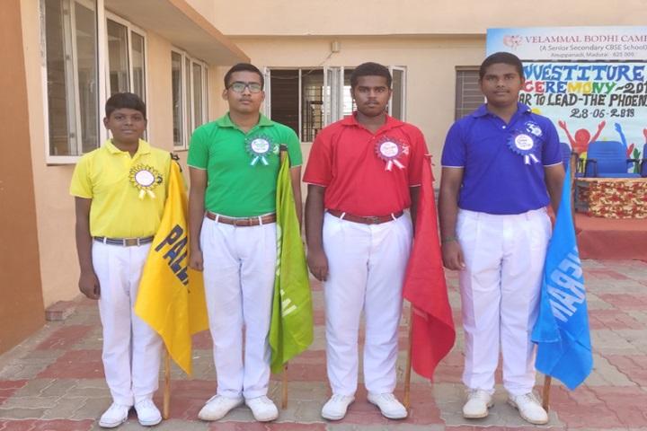 Velammal Vidyalaya-Investiture Ceremony