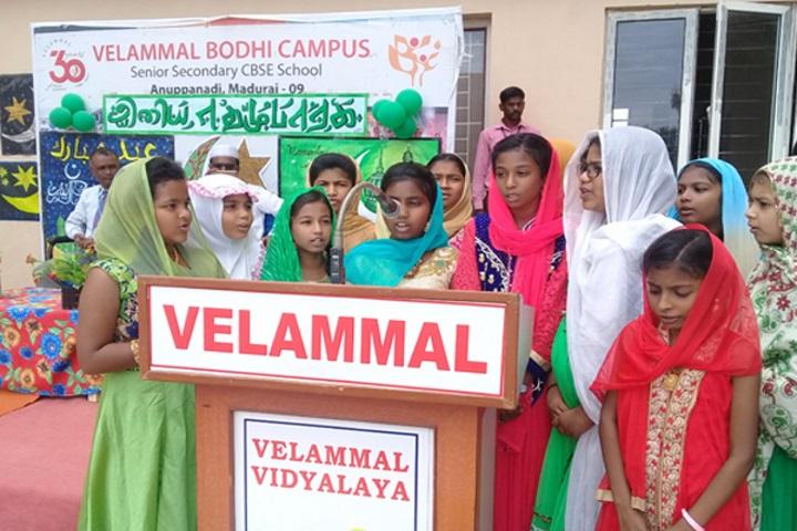 Velammal Vidyalaya-Ramzan Celebrations