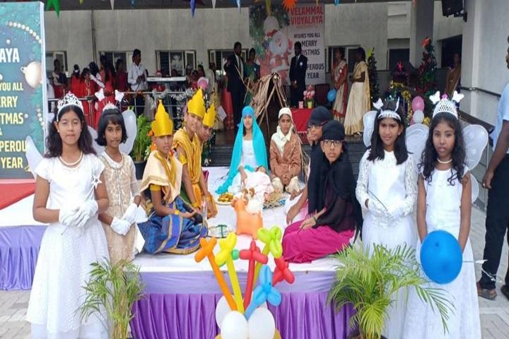 Velammal Vidyalaya-Christmas Celebrations