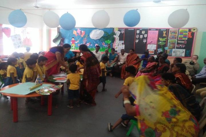 Velammal Vidyalaya-Grandparents Day Celebrations