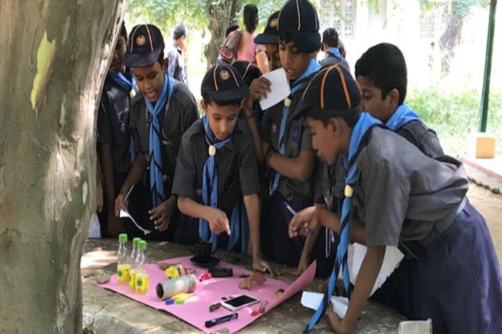 Velammal Vidyalaya-Scout Activity