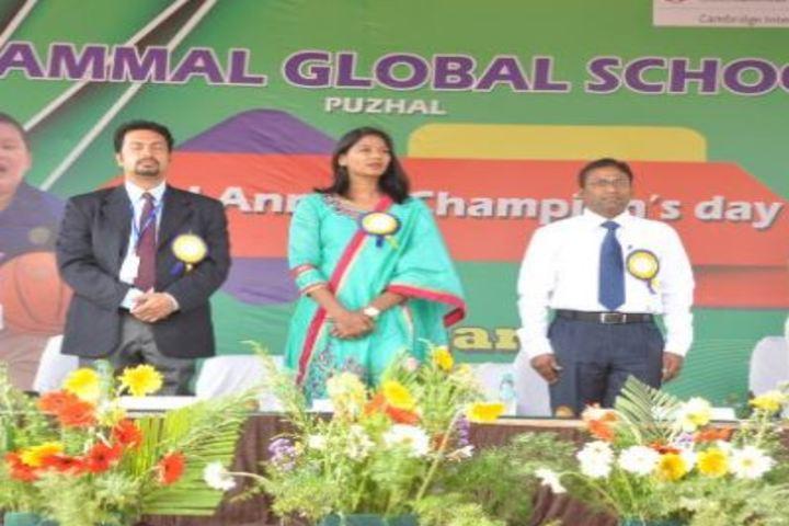 Velammal Vidyalaya-Champions Day