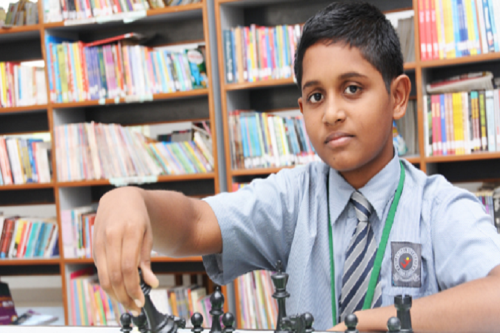 Velammal Vidyalaya School-Chess Competition