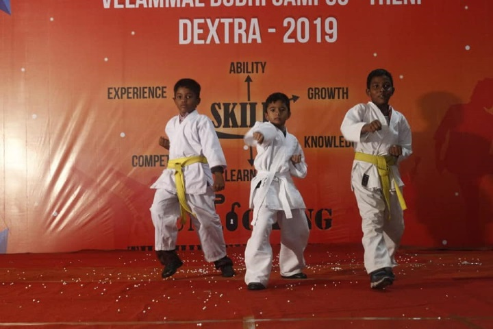 Velammal Vidyalaya-Karate Champions