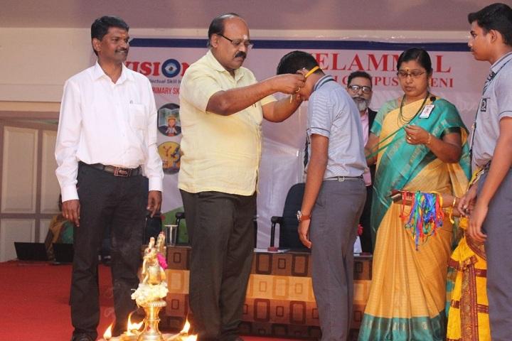 Velammal Vidyalaya-Achievement