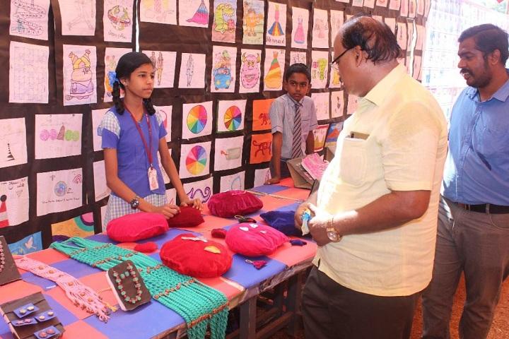 Velammal Vidyalaya-Craft Exhibition