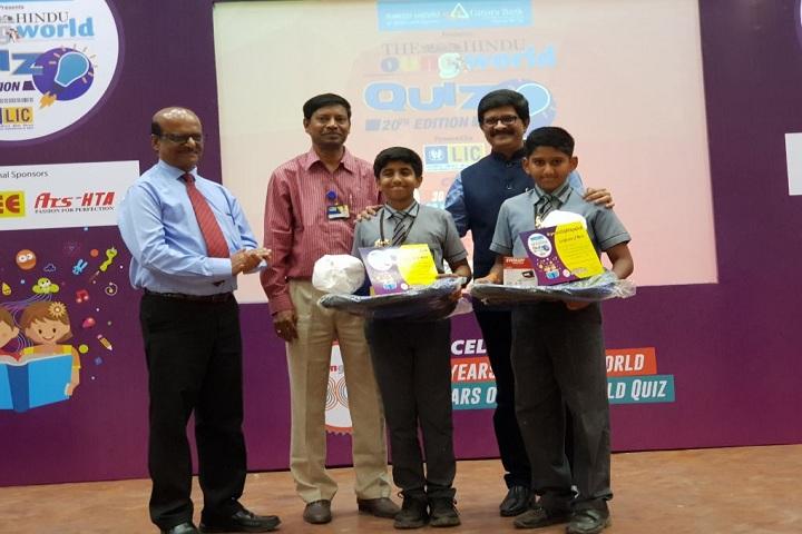 Velammal Vidyalaya-Quiz Competition