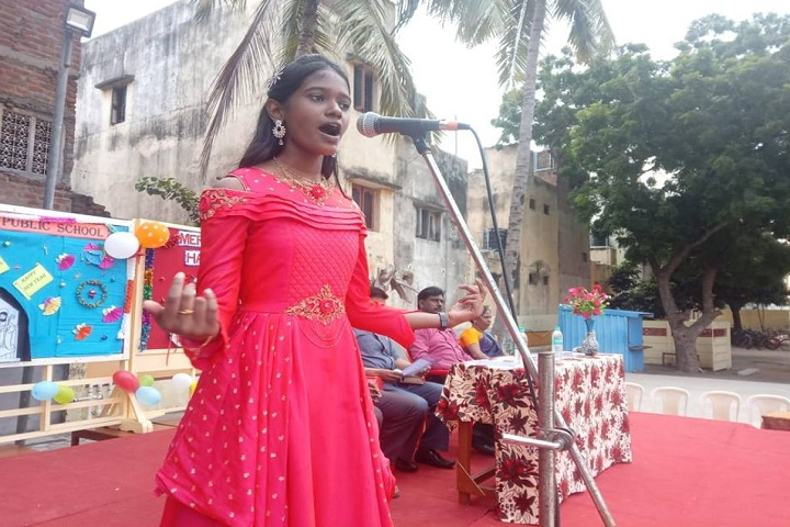 Velankanni Public School-Singing Competition
