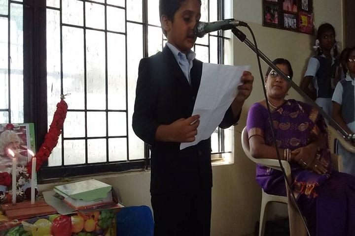 VGN Chinmaya Vidyalaya-Speech on Abdul Kalam