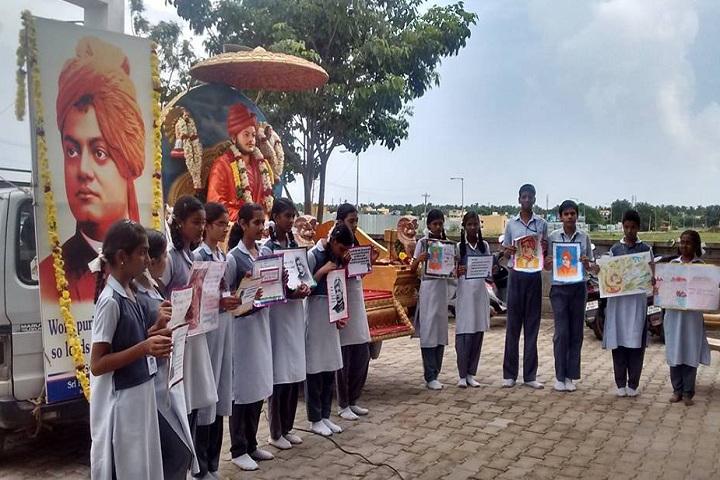 VGN Chinmaya Vidyalaya-Swami Vivekananda Event